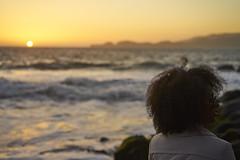 DSC03189 (manolosavi) Tags: people girl zeiss sonnar 55mm california sanfrancisco bakerbeach outside nature sea beach sand sony alpha a7 a7ii sky sunset