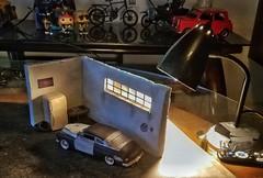 the chopshop (Yelbad) Tags: hobby art diorama 1949 mercury revell modelcar car vehicle automobiles