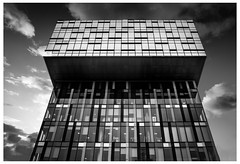 London building (spencerrushton) Tags: spencerrushton spencer rushton canon canonlens canonl canon5dmkiii 5dmk3 5dmkiii 24105mm canon24105mmlf4 london londonuk londoncity beautiful blackandwhite black bw walk white londonphotowalk abstract skyline sky raw lightroom uk contrast