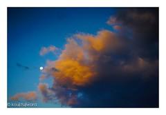 full moon...in the evening sky (kouji fujiwara) Tags: sky moon cloud fullmoon sonyα7 a7 α7 sony pentax fa43mmf19limited fa43mm limited fine art fineart skyscape