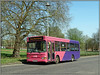 UNO 104 WGC (Jason 87030) Tags: uno 104 wgc bridgeroad trees lamp roadside pink purple kc03pgk campus uni university welwyngardencity herts sunny light color colour sony alpha a6000 ilce nex lens dart pointer slf dennis buses wheels transport
