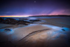 Disappearing Act (Augmented Reality Images (Getty Contributor)) Tags: longexposure sandend beach sunrise water scotland landscape nisifilters waves coastline morayfirth canon seascape clouds rocks unitedkingdom gb