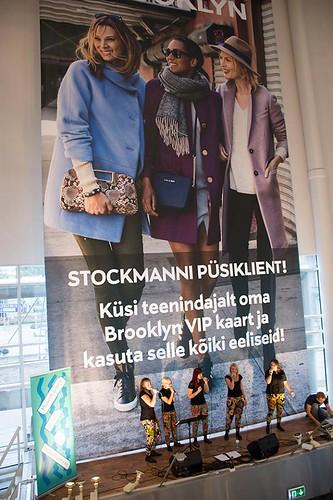 2015_Vokaalansambel Wannabes_Stockmanni keskuses