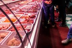 La Locanda del Macellaio,  Lecce, Salento, Apulia, Italy (R H Kamen) Tags: apulia italianfood italy lecce puglia rawfood salento salentoapulia barbecue butchershop food indoors label meat restaurant rhkamen westernscript