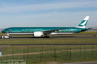 B-KPB Cathay Pacific Boeing 777-367(ER) special The Spirit of Hong Kong livery  (FRA - EDDF - Frankfurt)