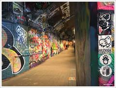 LONDON Waterloo Station 2018 - MEDIOCRE_MASSAKRE_MAY (MEDIOCRE_MASSAKRE) Tags: london waterloo station 2018 mediocremassakremay solenoide dream adesivi stickers enland united kingdom graffiti street art live painting