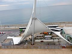 photo - Cruise Terminal, Alicante (Jassy-50) Tags: photo alicante spain alicantecruiseterminal cruiseterminal tentroof roof openairbar alfrescobar bar