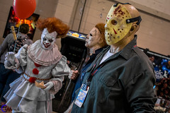 in costume media-59 (In Costume Media) Tags: stormtrooper hot girls elf joker newjoker ha star wars darth revan jason michael michaelmyers it pennywise disney disneycosplay obi wan horror clone riddler clown furry fursuit fursuiters sith jedi vader superman lightsaber cherry city comic con comiccon