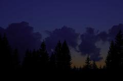 dark blue times (kobianda) Tags: clouds cloudy dark evening darkblue sunset spring beskydy czechrepublic cz nightfall darkbluelife