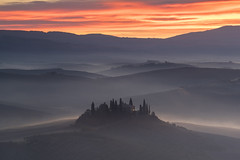 The most beautiful sunrise ... (Andrea Burla Landscape and Travel Photography) Tags: nikon nikond750 nisifilters nisifiltersitalia landscapephotography travel travelphotography tuscany italy landscape
