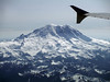Rainier A320 (Sotosoroto) Tags: washington aerial airplane wing mtrainier rainier mountain volcano glacier snow cascades sourdoughmtns slidemountain brownpeak