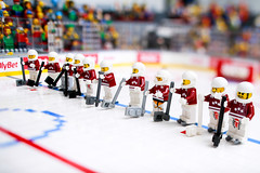 LV_Hokejs-9 (KEEP_ON_BRICKING) Tags: iihf latvia mens national ice hockey team world championship denmark 2018 lego minifigure icehockey legoman awesome epic cool big icehockeyfield legoicehockey amazing latvija fan lielfans kopāspēks komanda izlase keeponbricking