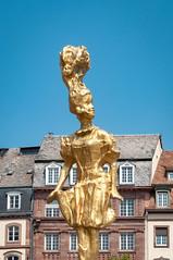 INDUSTRIEMAGNIFIQUE BARBIE FLORE-101 (MMARCZYK) Tags: france alsace 67 grandest strasbourg lindustrie magnifique barbie flore place kleber art statue