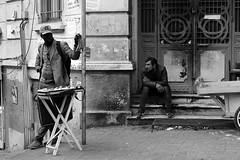 Waiting (K.BERKİN) Tags: waiting turkey tourism human people pera alpha antique street streetphoto streetphotograpy sony6300 dark fashion goldenhorn homeless job life blackwhite istanbul bazaar city nature beyoglu black buy mirroless man mean