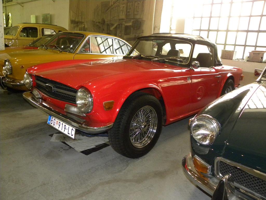 Dscn0801 1969 triump tr6 emilio a roma tags beograd belgrado museo automobile car