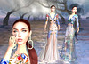LuceMia - On9 Event (MISS V♛ ITALY 2015 ♛ 4th runner up MVW 2015) Tags: jumo on9event slackgirl new fashion nails mesh creations hud colors texture irina gown birds regna bento exclusive event blog models lucemia