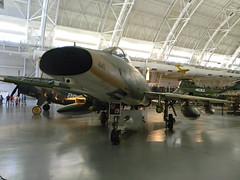 North American F-100 Super Sabre (Photo Squirrel) Tags: nationalairandspacemuseum smithsonian stevenfudvarhazycenter museum aircraft airplane dullesairport chantillyva virginia royalairforce100thanniversary greatbritishflyin