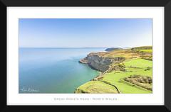 The Great Orme's Head (Ken Walker Photography) Tags: drone landscape ariel cliffs water sky seascape llandudno land greatorme