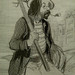DAUMIER Honoré,1843 - Préparation du Voyage (Maison de Balzac) - Detail 04