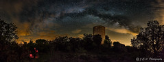 Portraying life (Jordi Castellà) Tags: vialactea milkyway noguera cas santjaume pano panoview torre tower nightview ager montsec