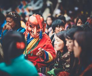 Bhutan: Atsara in their midst.