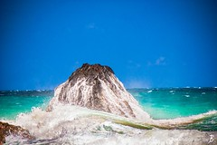 "Wednesday's JBP Photo of the Day! ""Hawaii Ocean Wave Receding from Rock"" (Joe Boyle Photography) Tags: jbpphotooftheday jbp interiordesign interiordesigner commercialdesign commercialart hawaii beach hanakapiai kalalau trail ocean pacific crash crashing splash splashing rock kauai receding wavecommercialinteriors commercialphotographer commercialphotography"