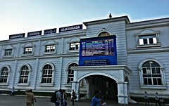 VIJAYAWADA RAILWAY JUNCTION (Sriram.SN) Tags: vijayawada andhra pradesh india trains railways station junction railroad