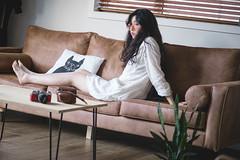 DSC_9799 (yushicheng) Tags: home lifestyle sofa life living livingroom room girl portrait portraiture auckland newzealand interior interiordesign plant nikon nikond810 d810 dslr