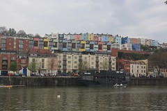 Many colours (lazy south's travels) Tags: bristol avon england english britain british uk harbour harbourside building architecture urban river barge boat