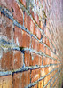 Another wall (lgflickr1) Tags: bricks closeup d750 deteriorated exterior missoula montana city nikon outdoor old red mortar streetphotography travel texture urban weathered worn lines vanishingpoint simple abstractimpressions abstract symmetry structure manmade 50mm rectangles