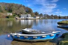 Lerryn, Cornwall (Baz Richardson (back on 26 May)) Tags: cornwall lerryn riverlerryn smallboats villages
