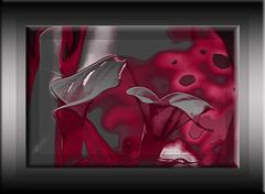 Calas (seguicollar) Tags: imagencreativa photomanipulación art arte artecreativo artedigital virginiaseguí calas rojo flower flores gris