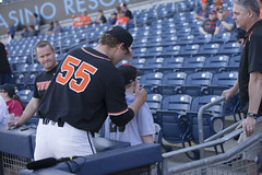 Oklahoma State Cowboys vs Oklahoma Sooners Baseball Game, Saturday, April 28, 2018, Oneok Field, Tulsa, OK. Bruce Waterfield/OSU Athletics (OSUAthletics) Tags: 2018 athletics baseball bedlam big12 cowboys oklahomastate oklahomastatecowboys oklahomastateuniversity osu ou pokes sooners universityofoklahoma