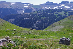 Basin View (akortrey) Tags: grandtetonnationalpark tetoncresttrail wyoming wilderness mountains alaskabasin