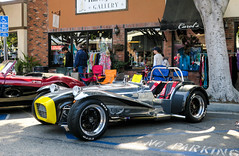 Lotus Seven on Main Street in Seal Beach (49er Badger) Tags: lotus 7 seal beach show seven