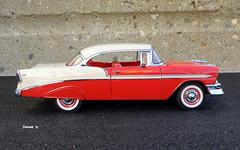1956 Chevrolet Bel Air Hardtop Sport Coupe (JCarnutz) Tags: 124scale diecast danburymint 1956 chevrolet belair