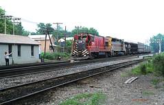 CR 2779                            6-79 (C E Turley) Tags: railway conrail cr lv el sd45 u23b