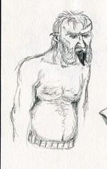 sc0116 (Josh Beck 77) Tags: drawing doodle sketch fantasy medievalfantasy troll fantasycreature oc originalcharacter medieval