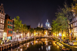 Midnight in Amsterdam
