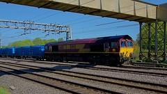 66113 (Martin's Online Photography) Tags: ews class66 66113 actonbridge train rail railway freight transport cheshire nikon nikond7200 diesel