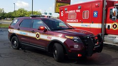 EMS 12 (Central Ohio Emergency Response) Tags: columbus ohio fire division truck scene ems supervisor chief ford suv paramedic