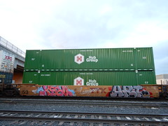 Xqsu - Art96 BHB (Railroad Rat) Tags: uncle rides usa united states america traveling freight train overland route ramble union pacific transient
