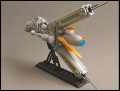 Y-18R Ragnarok Starfighter 005 (SweStar) Tags: the last starfighter brixtar challenge lego moc space starwars swestar