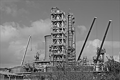 Saltend Monochrome (brianarchie65) Tags: hedonchurch saltendrefinery saltend cranes coolingtowers clouds litter rubbish trash construction lapollution unlimitedphotos ngc flickrunofficial flickruk flickr flickrcentral ukflickr monochrome blackandwhite blackandwhitephotos blackandwhitephoto blackandwhitephotography canoneos600d geotagged brianarchie65 paullroad