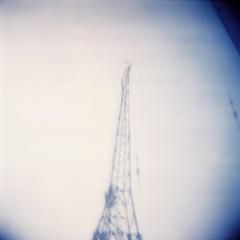 crane top (Bingo Little) Tags: holga plasticfantastic holga120n crane cranes