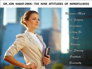 Dr. Jon Kabat-Zinn - The 9 Attitudes of MINDFULNESS - #mbsr - #MBCT - #mindfulness