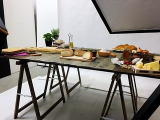 Backstage food photography Roma