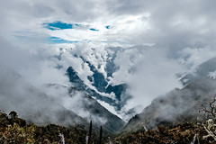 The smoky Andes (Piyush Bedi) Tags: smoke smoky andes mountains range peru southamerica incatrail trek nature hike outdoors clouds mist landscape fuji fujifilm xt1