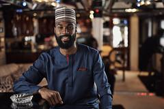 Mike Edwards (ArnabKGhosal) Tags: londonphotographer locationshoot yacht strobist nikon arnabkghosal 50m14sigmaart godoxad200 yongnuo cigar nigerian model athlete annivesary portrait cinematicportrait editorial