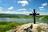 Pchelina lake (Morkovica) Tags: lake landscape pchelina nikon d5100 bulgaria dam christiancross